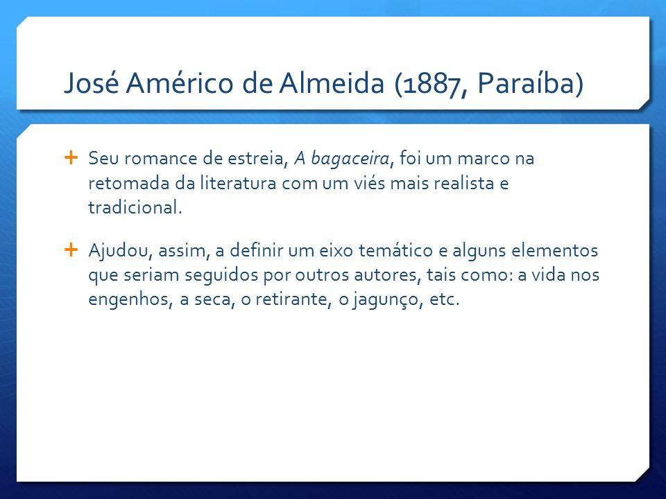 José Américo de Almeida (1887, Paraíba)