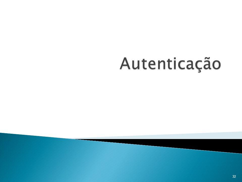 Autenticação