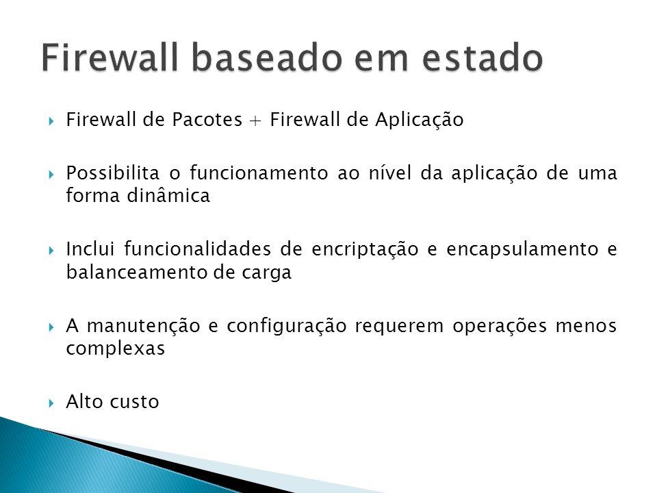 Firewall baseado em estado