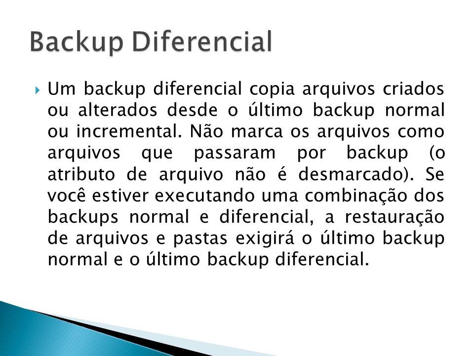 Backup Diferencial