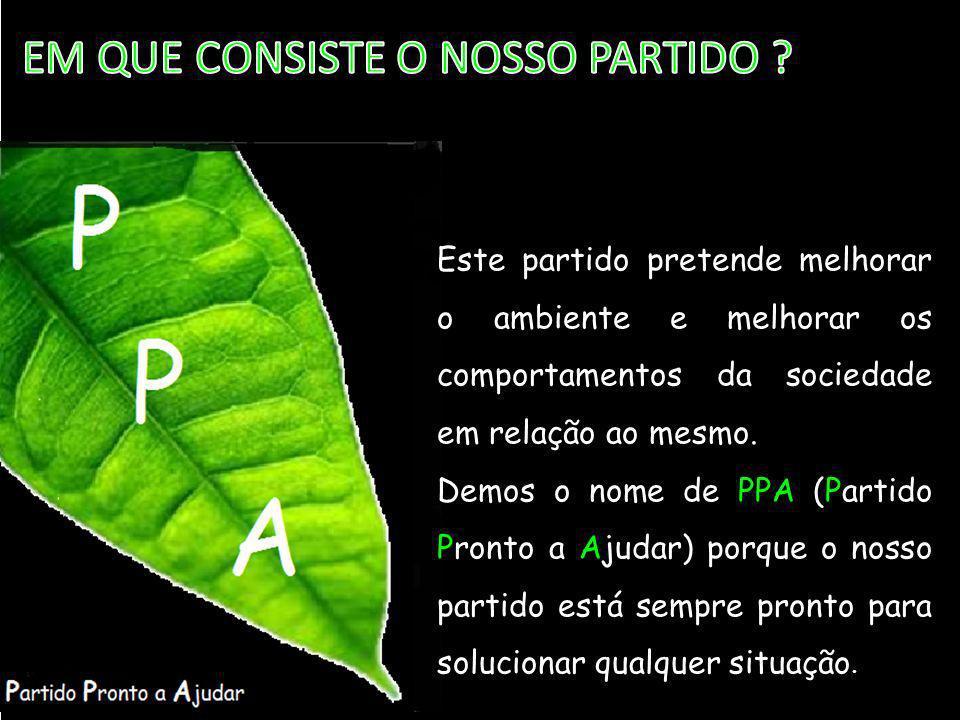\ EM QUE CONSISTE O NOSSO PARTIDO