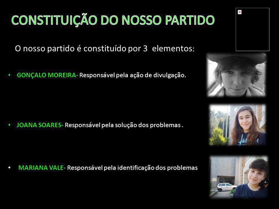 CONSTITUIÇÃO DO NOSSO PARTIDO