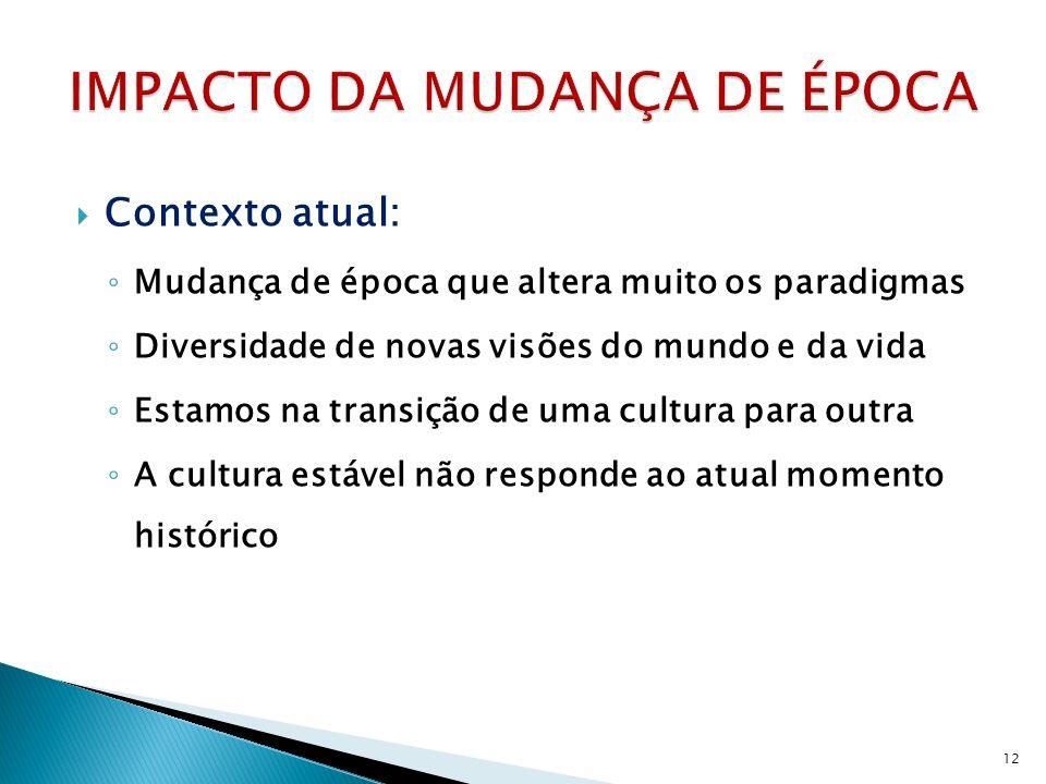 IMPACTO DA MUDANÇA DE ÉPOCA