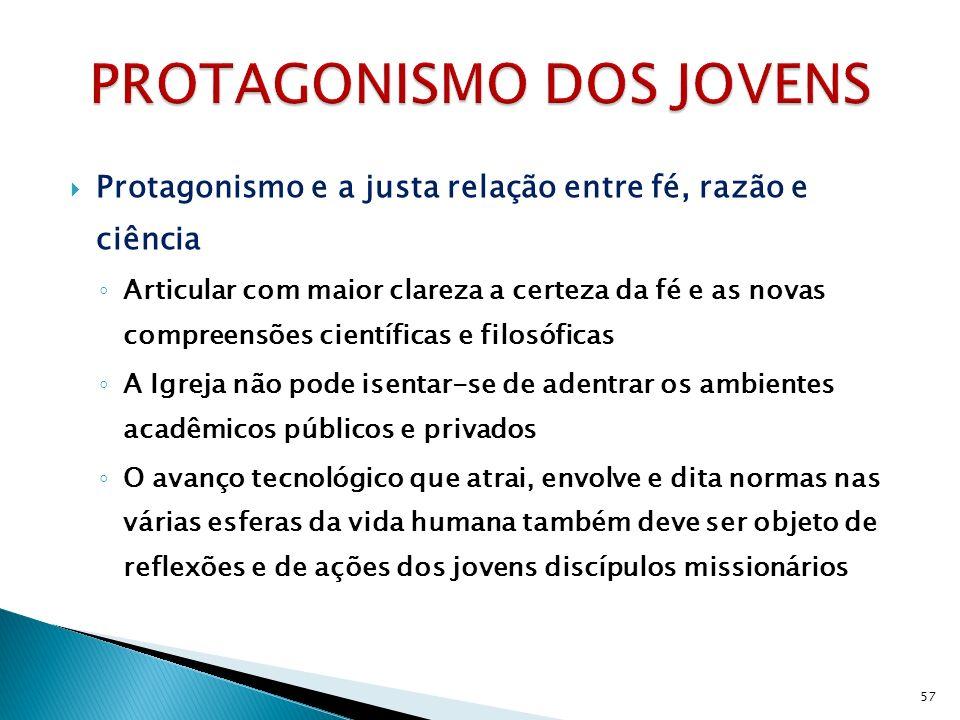PROTAGONISMO DOS JOVENS