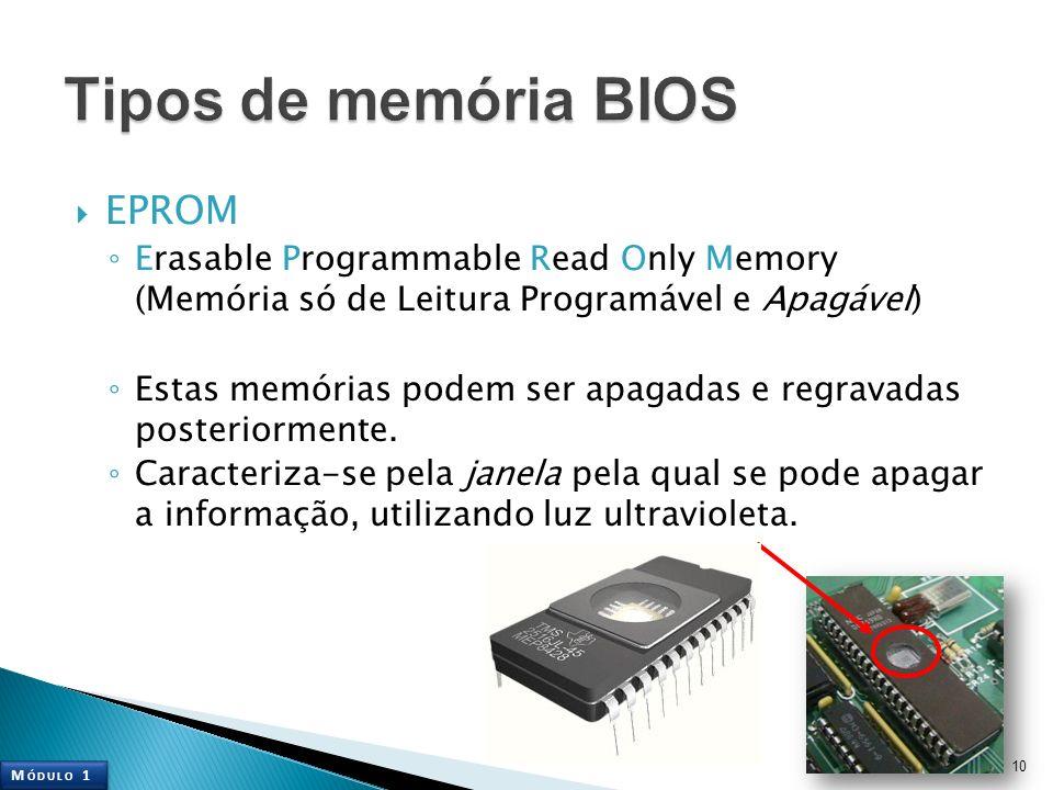 Tipos de memória BIOS EPROM