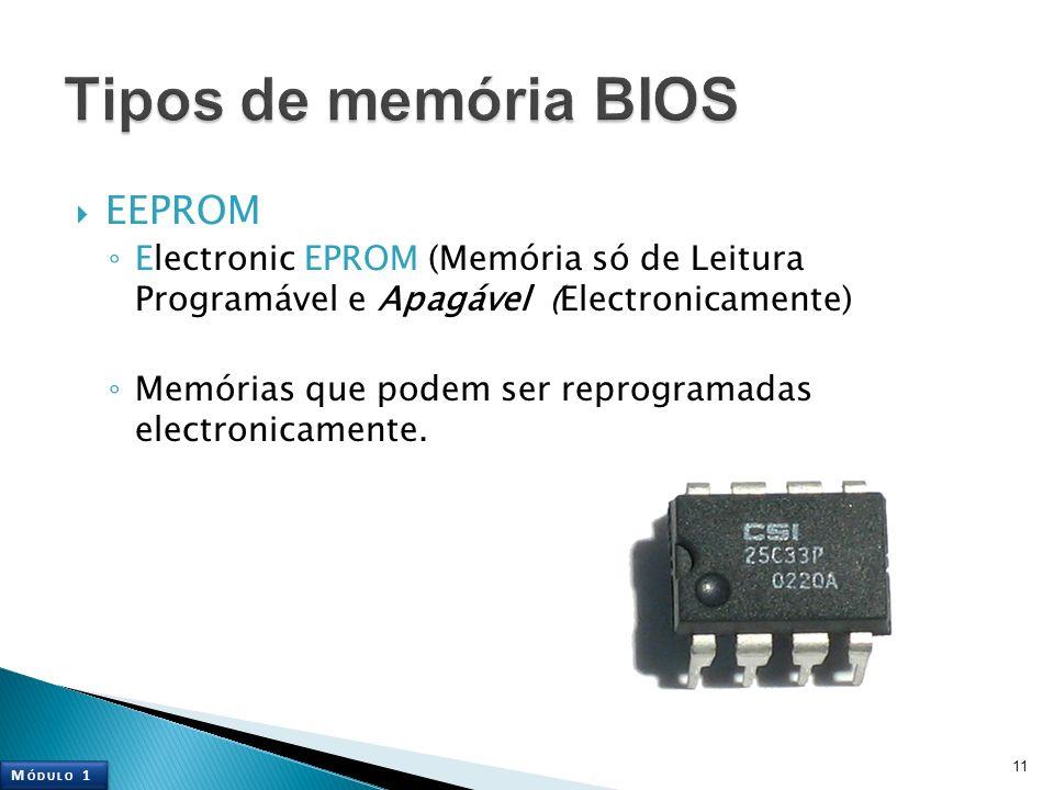 Tipos de memória BIOS EEPROM