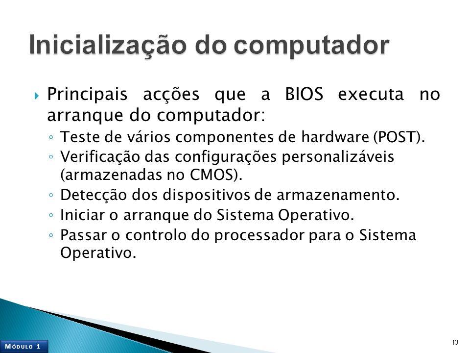 Inicialização do computador