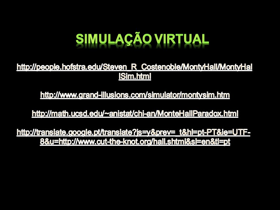 Simulação virtual