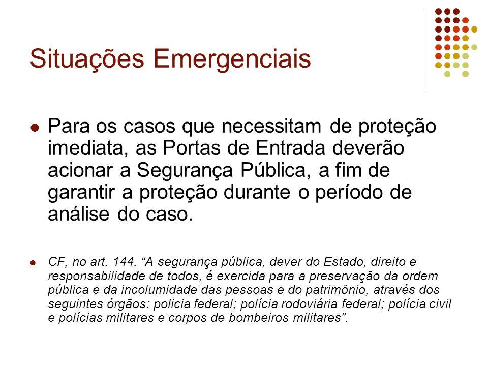 Situações Emergenciais