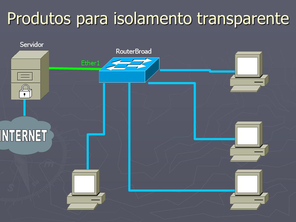 Produtos para isolamento transparente