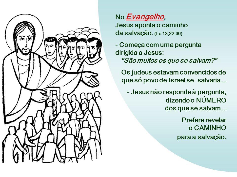 - Jesus não responde à pergunta, dizendo o NÚMERO