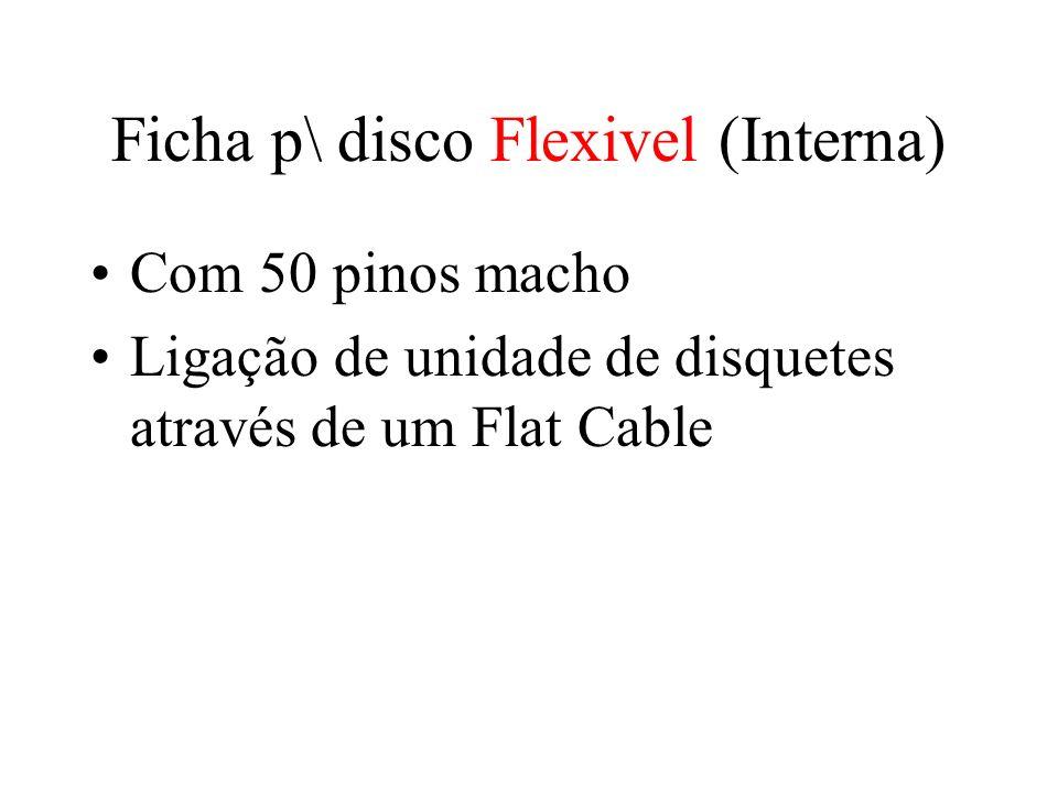 Ficha p\ disco Flexivel (Interna)