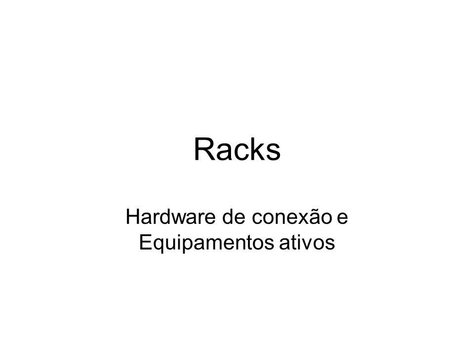 Hardware de conexão e Equipamentos ativos