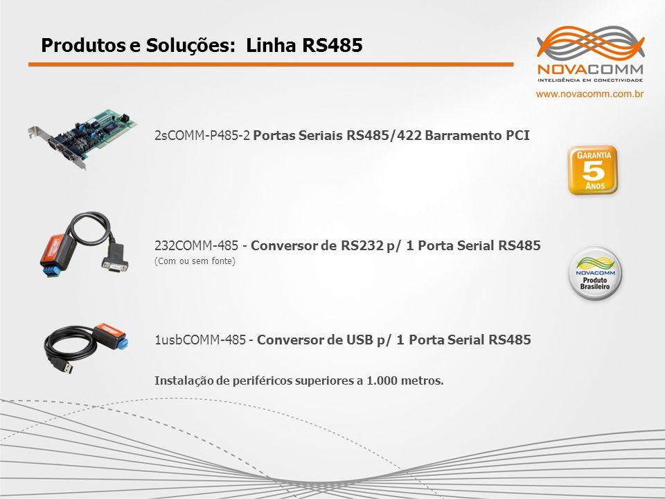 Produtos e Soluções: Linha RS485