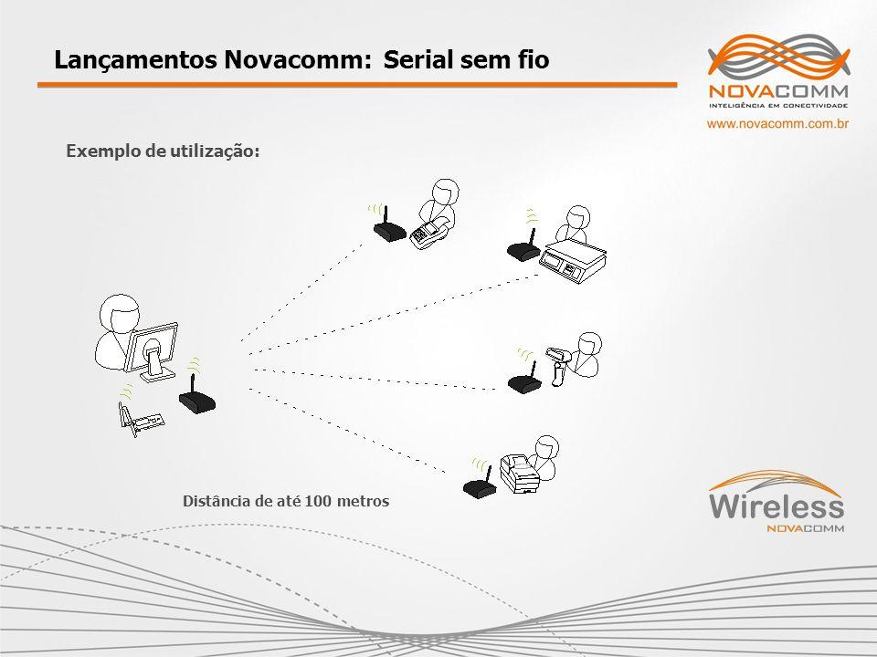 Lançamentos Novacomm: Serial sem fio