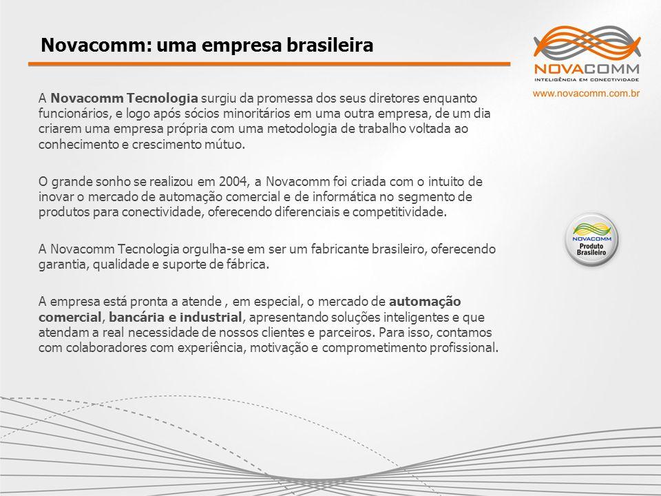 Novacomm: uma empresa brasileira