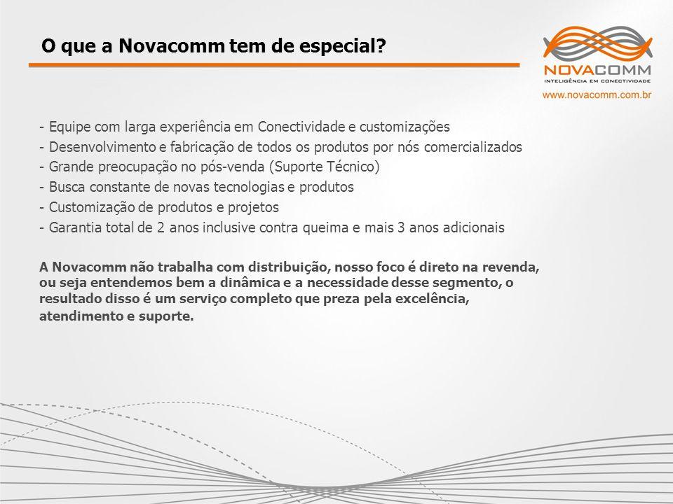 O que a Novacomm tem de especial