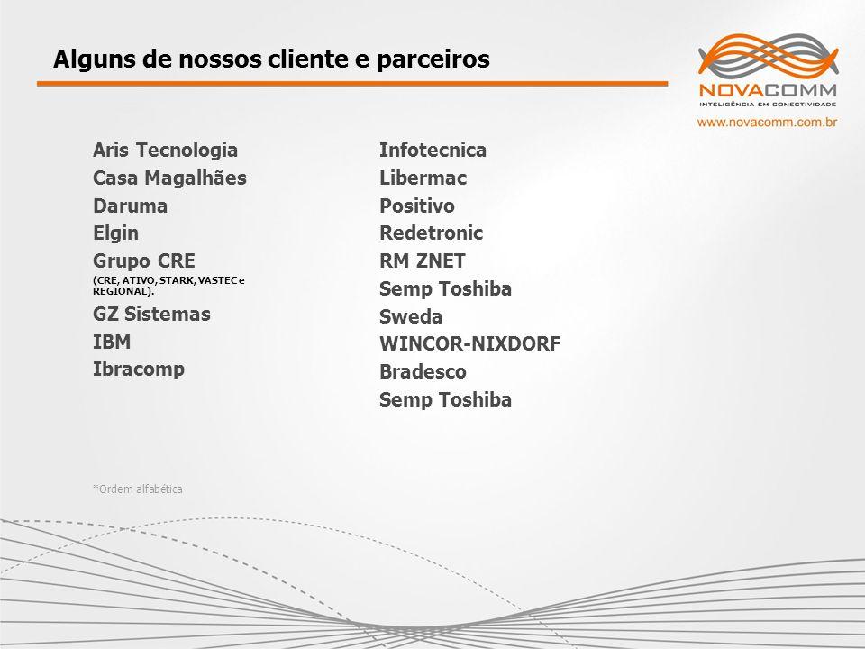 Alguns de nossos cliente e parceiros