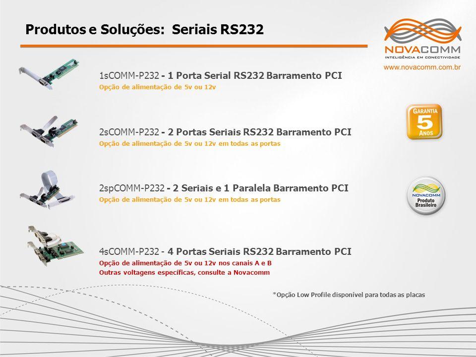Produtos e Soluções: Seriais RS232