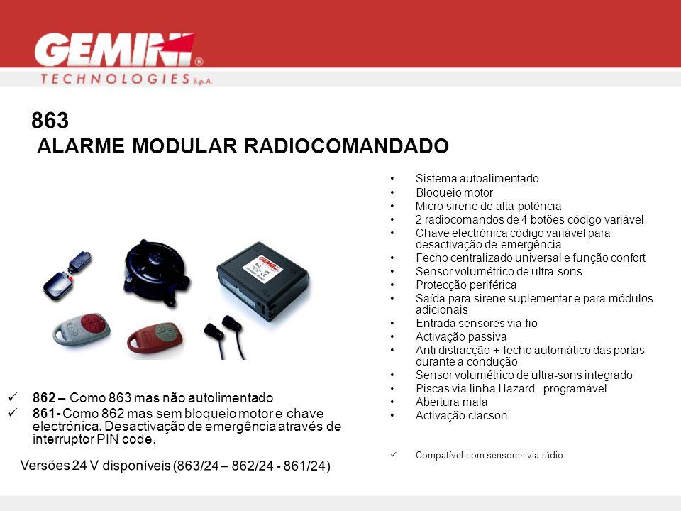 863 ALARME MODULAR RADIOCOMANDADO