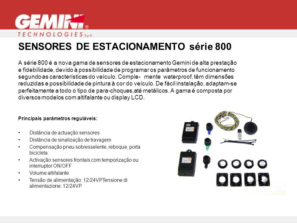 SENSORES DE ESTACIONAMENTO série 800