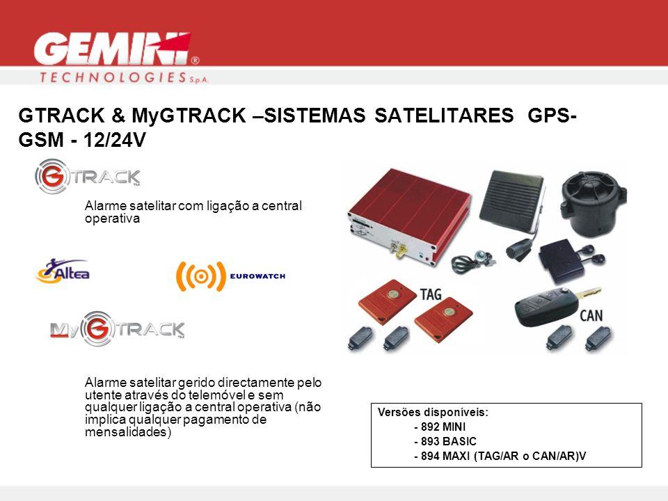 GTRACK & MyGTRACK –SISTEMAS SATELITARES GPS-GSM - 12/24V
