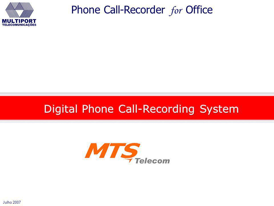 Digital Phone Call-Recording System