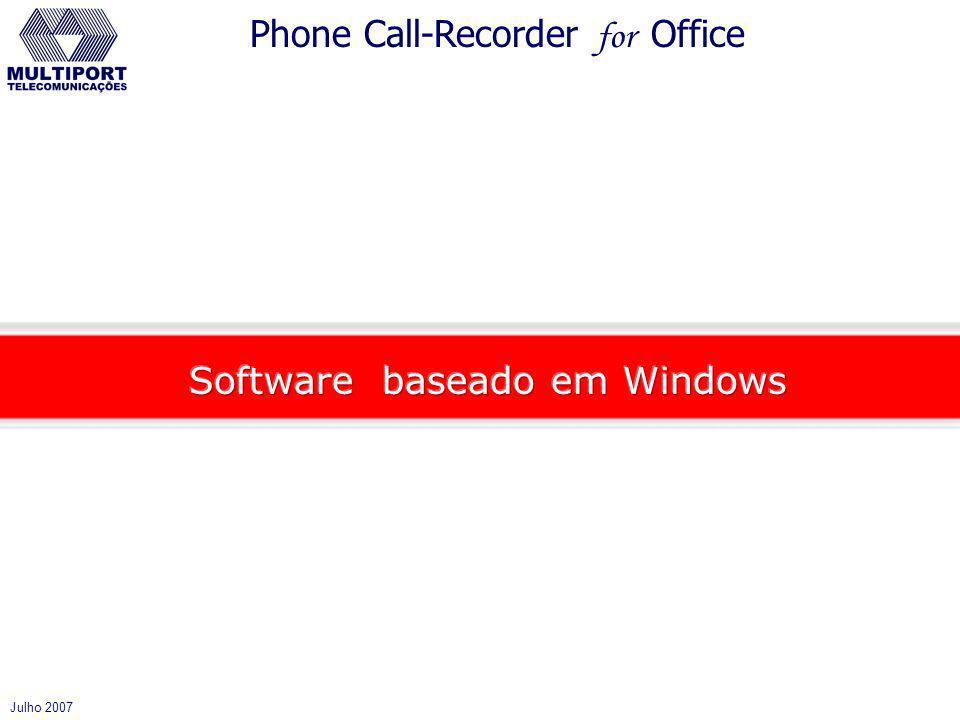 Software baseado em Windows