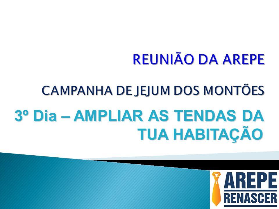 REUNIÃO DA AREPE CAMPANHA DE JEJUM DOS MONTÕES