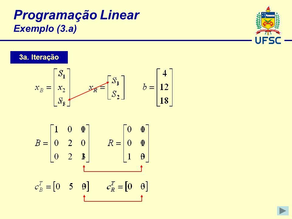 Programação Linear Exemplo (3.a)