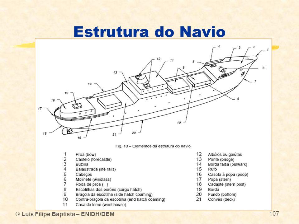 Estrutura do Navio © Luis Filipe Baptista – ENIDH/DEM 107 107