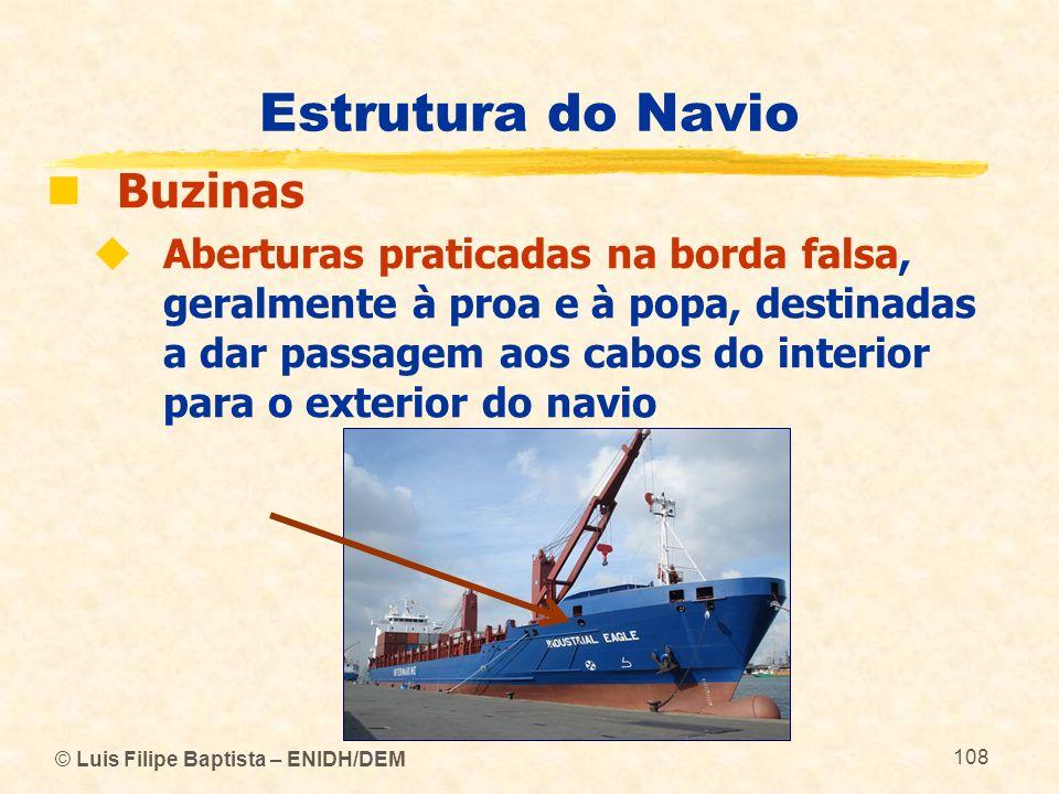 Estrutura do Navio Buzinas