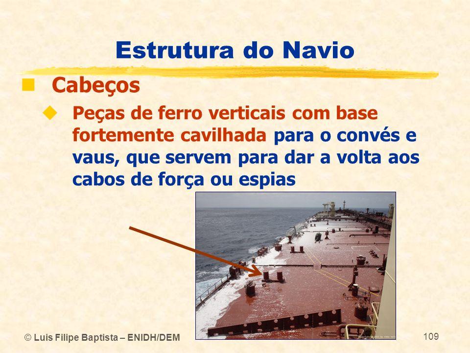 Estrutura do Navio Cabeços