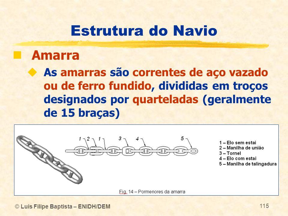 Estrutura do Navio Amarra