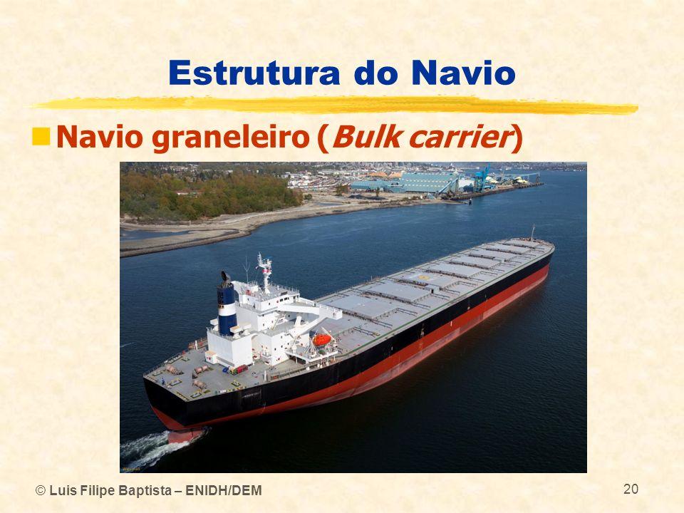Estrutura do Navio Navio graneleiro (Bulk carrier)