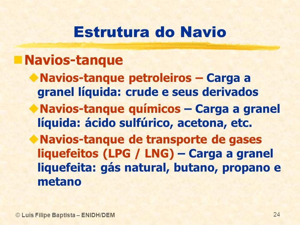 Estrutura do Navio Navios-tanque