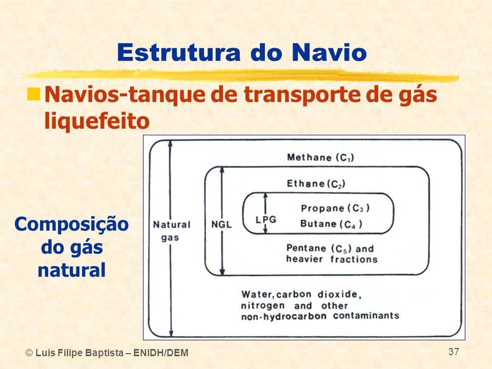 Composição do gás natural