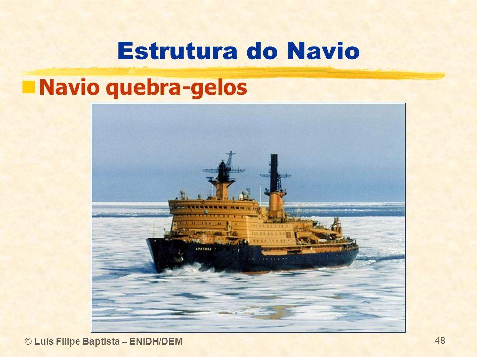 Estrutura do Navio Navio quebra-gelos