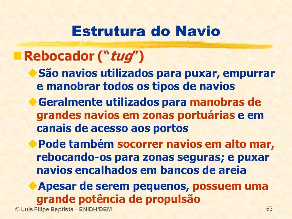 Estrutura do Navio Rebocador ( tug )