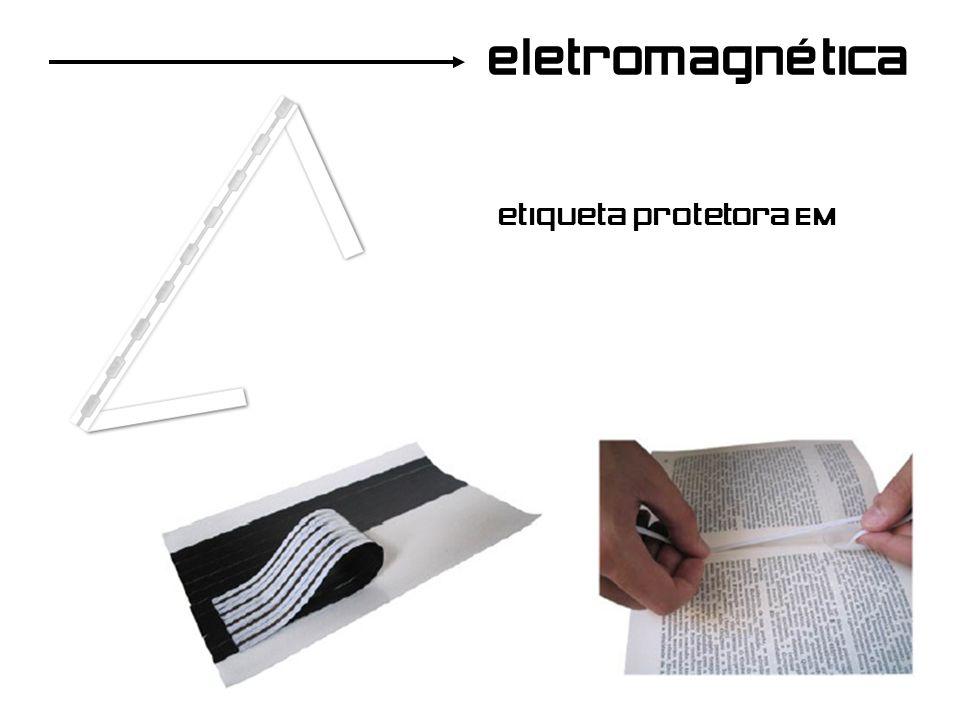 eletromagnética etiqueta protetora EM