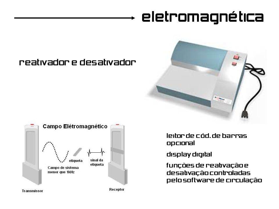 eletromagnética reativador e desativador