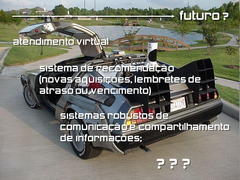 futuro atendimento virtual sistema de recomendação