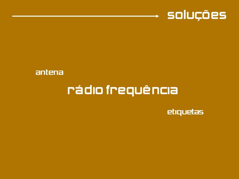 soluções antena rádio frequência etiquetas