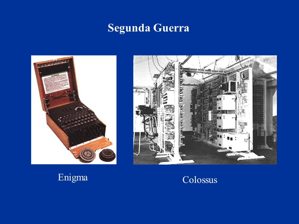 Segunda Guerra Enigma Colossus