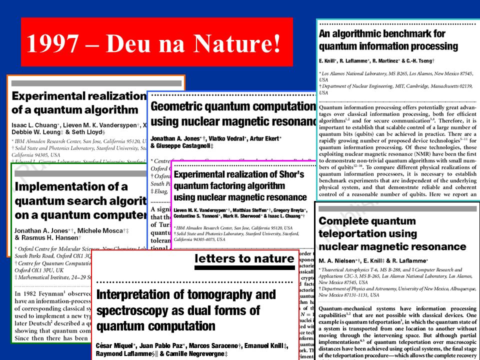 1997 – Deu na Nature!