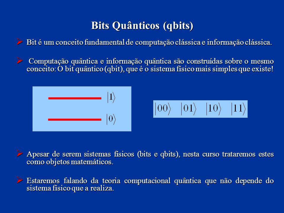 Bits Quânticos (qbits)
