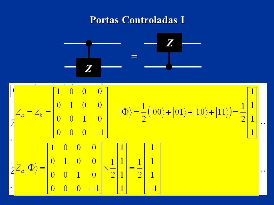 Portas Controladas I Z =