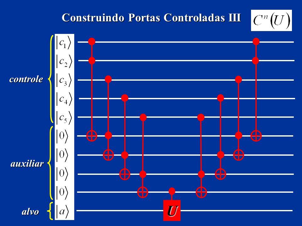 Construindo Portas Controladas III