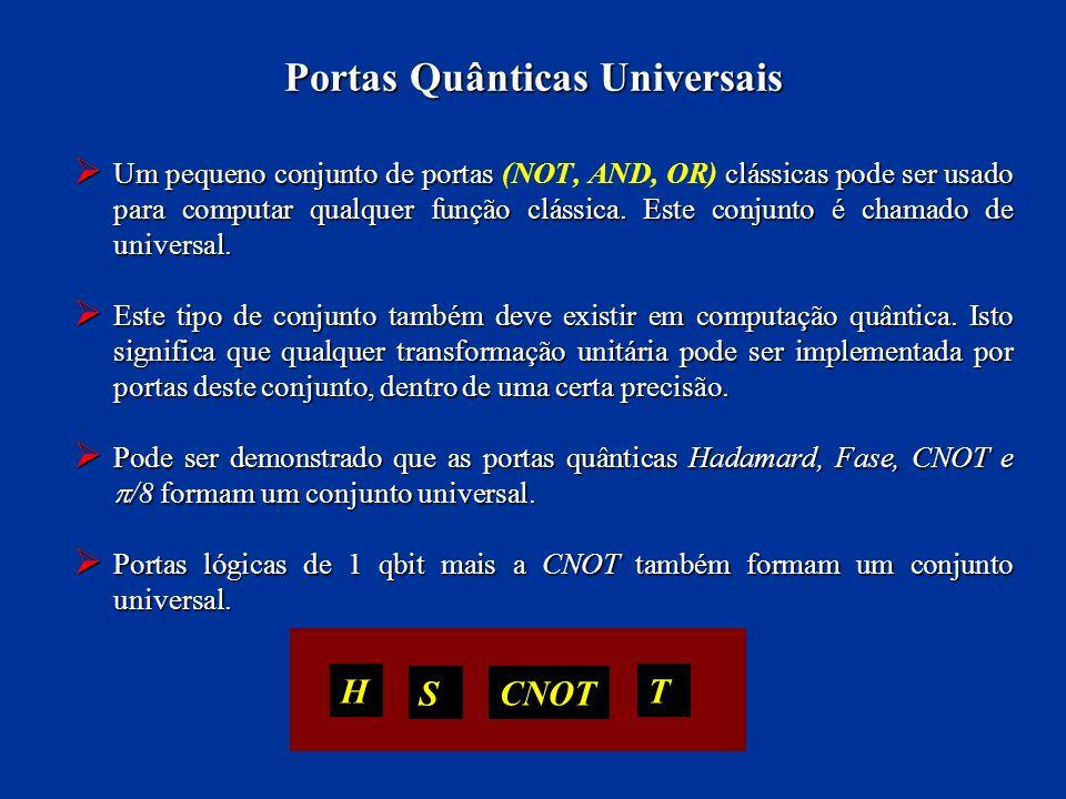 Portas Quânticas Universais