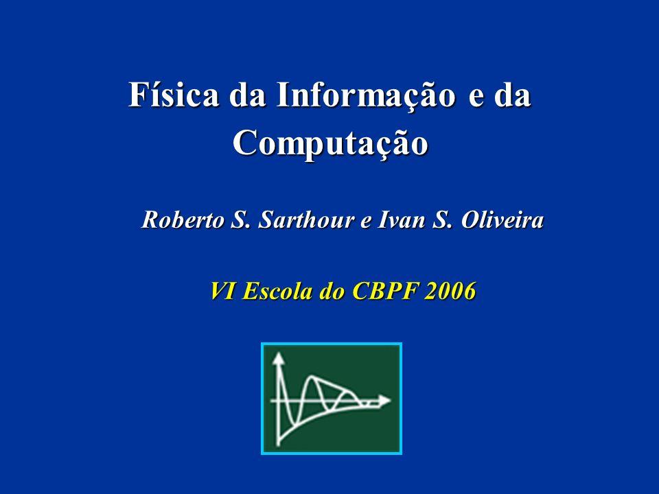 Física da Informação e da Computação
